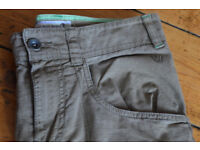 Boys Olive Trousers Age 13 years, by GAP hardly worn
