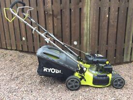 RYOBI Petrol Lawnmower - 1 year old