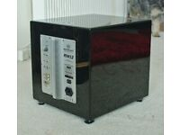 Monitor Audio Silver RSW 12 Powered Subwoofer Gloss Black