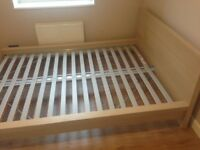 King size Ikea Malm bed