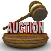 AUCTION SALE AT MT. ELGIN WED. AUG.2 AT 6:30 PM
