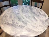 Vintage Round Dinner Table