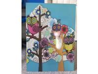 Ikea picture owls £5