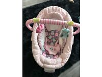 Mothercare Pink Baby Bouncer