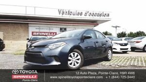 2015 Toyota Corolla LE BACKUP CAMERA