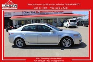 2007 Acura TL w/Navigation Pkg $152/SEMI MONTHLY OAC