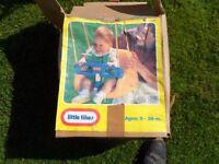 Little Tikes Toddler's Swing Seat.