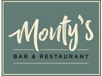 Chef de Partie - Monty's Restaurant (Finnieston)