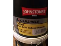 Johnsons high build textured paint 18 tubs bargain