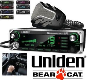 NEW UNIDEN BEATCAT 880 CB RADIO WITH 7 COLOUR DISPLAY BACKLIGHT