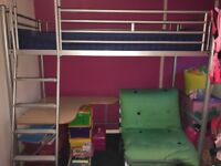 Futon bed in excellent condition