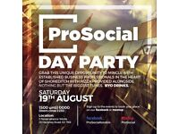 DAY PARTY IN SHOREDITCH