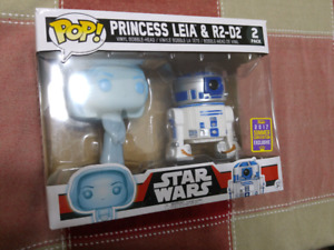 Princess Leia and R2D2 2017 summer convention funko 2 pack