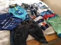 Baby boy 6-9mth clothes