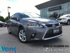 2014 Lexus CT 200h ONE OWNER