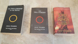 The LORD OF THE RINGS 3 Book Series