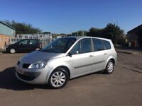 2007 RENAULT GRAND SCENIC (7 seater) -- 1.6 PETROL / 6 SPEED GEARBOX / LOW MIL. / MOT APRIL 2018
