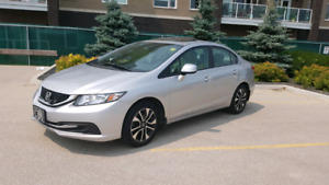 2013 Honda Civic EX Manual SAFTIED