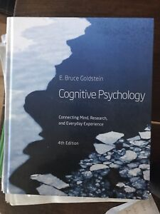 Cognitive psychology textbook 4th edition