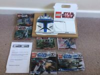 Lego Star Wars Daily Mirror Collection Full Set Unopened X6 & Collectors Box NEW Can Post!