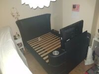 LG TV Double bed