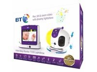 BT video baby monitor 7500 lightshow new erf:£179