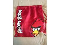 2 next red angry bird bags