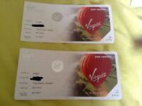 Virgin balloon flight tickets x2