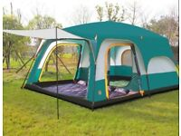8 Man Tent by Camel - Used once - Ideal for family - Breathable inner skin.