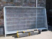 Heras Fencing Heavy Duty Round Top Temporary Fencing