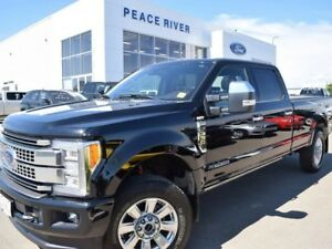 2017 Ford F-350 Platinum 4x4 SD Crew Cab 8 ft. box 176 in. WB SR