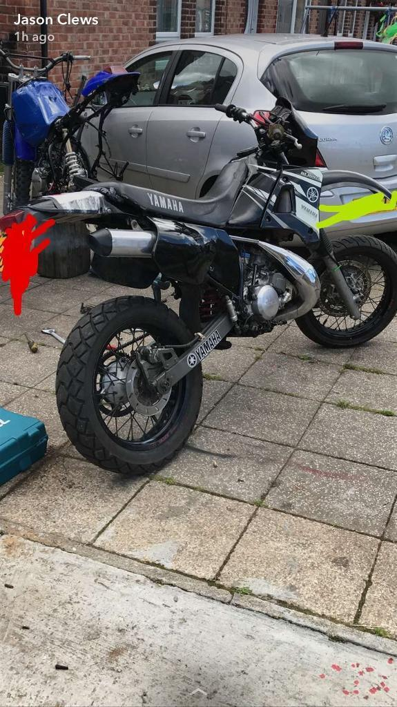 "Yamaha dtr 125 super Moto on road ""SWAP"""