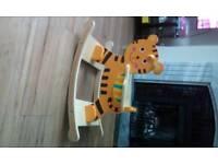 Wooden Rocking tiger (rocking horse)