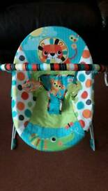 Bright starts baby bouncy chair