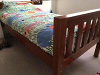 Timber bunk bed - good used condition - mattresses available separately