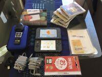 Nintendo NEW 3DS XL (US version) + SKY3DS Plus + DSTWO + 5 Games + MORE!!!