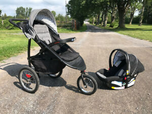 Graco Stroller - Jogger Click Connect Travel System