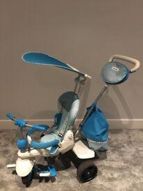 Smart trike splash - blue 4 in 1