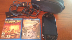 Sony PS VITA with 2 games