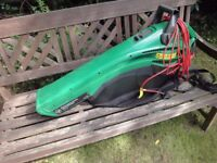 GARDEN VACUUM HARDLY USED. ELECTROLUX LEAF BLOWER AND VAC