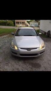 Honda accord 2005 manuelle