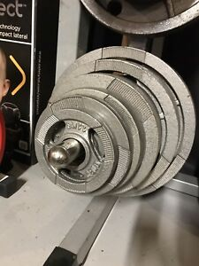 245 lbs Olympic Weight, 2 inch Hole