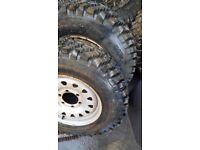 L200 mud tyre