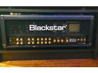 Blackstar series one 200 valve amp flightcased!