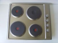 Stainless Steel 4 Plate Electric Cooker Hob - NEW