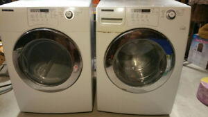SAMSUNG DRYER AND FREE WASHER