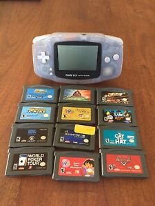 Nintendo Gameboy Advance bundle  with games
