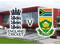 ENGLAND V SOUTH AFRICA OLD TRAFFORD 5TH AUGUST
