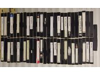 Job Lot of 57 Used VHS Tapes