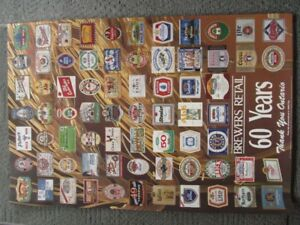 Brewers Retail 60 Years Poster
